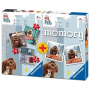 Ravensburger italy 06872 2 - vita da animali (the secret life of pets) multipack: 3 puzzle e 1 memory