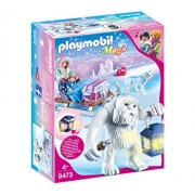 Playmobil Magic, Yeti, figurine si sanie
