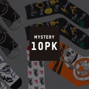 Mystery Geek Collection Pack 10 Pares de Calcetines Frikis Misteriosos