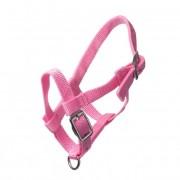 HB Nylon Miniveulen halster - pink - Size: MINI