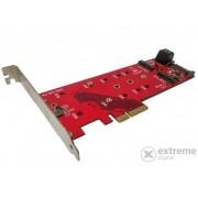 Adaptor Roline cPCIe 2x SATA M.2 NGFF + 1x PCIe M.2 NGFF