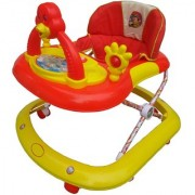 Oh Baby Baby Adjustable Musical With Light Square Tweety Play Tray Shape red Color Walker For Your Kid SE-W-93