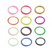 12 Matassine Di Pla - 1.75mm - Rocche Da 10 Metri Di Vari Colori Per Stampa 3d