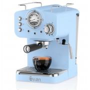 Swan Retro Espresso Koffiemachine - Blauw
