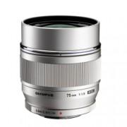 Olympus M.Zuiko Digital ED 75mm 1:1.8 MSC - montura Micro4/3 argintiu