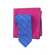 Ted Baker London Multi Colored Dot Tie Pocket Square Set BLUE