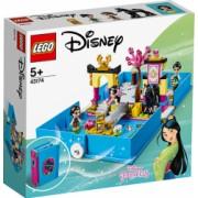 LEGO Disney Princess Aventuri din cartea de povesti cu Mulan 43174