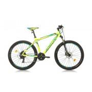 """Велосипед Sprint MAVERICK 27.5""""x43;GRN M; CYA/D.BLUE"""