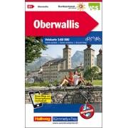 Fietskaart 21 Oberwallis | Kümmerly & Frey