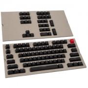 Set 104 taste Glorious PC Gaming Race ABS-Doubleshot - Black, US Layout, G-104-Black