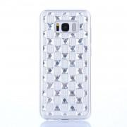 Samsung Handyhülle Diamant silber für Samsung Galaxy S8