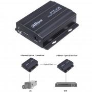 Receiver optic Ehternet Dahua OTE103R fibra monomodala