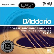 D'Addario EXP16 .012-053 Cuerdas guitarra acúst.