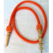 Top Mark M méretű, 155 cm nem mosható szívócső — narancssárga