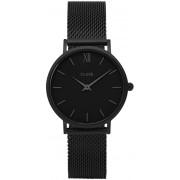 Cluse Minuit Mesh Full Black CL30011