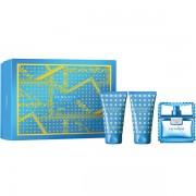 Versace Man Eau Fraiche Комплект (EDT 50ml + AS Balm 50ml + Shower Gel 50ml) за Мъже