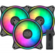 Ventilador Gamer COOLER MASTER MASTERFAN MF120 HALO 3 en 1 RGB 120mm