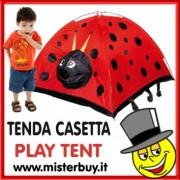 TENDA CASETTA COCCINELLA