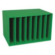 Pacon Classroom Keepers Centro de Literatura, Color Verde, 28 cm de Alto x 17 cm de Ancho x 12 cm de Profundidad, 1 Pieza