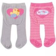 Комплект чорапогащници за кукла BABY Born, 2 броя, различни модели, 790083
