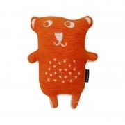 Klippan Yllefabrik Little bear gosedjur orange klippan yllefabrik