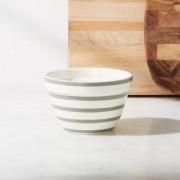 Avery Grey Stripe Mini Mixing Bowl