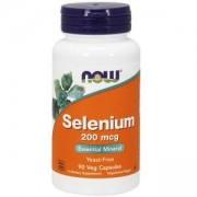Селен 200 мкг. - Selenium - 90 капсули - NOW FOODS, NF1485