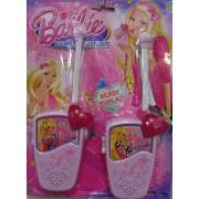 Adó-Vevő Walky-Talky Barbie walkie-talkie rózsaszín Gyerek szett - Gyerek játék