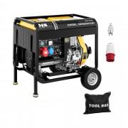 Diesel Generator - 4,400 W - 12.5 L - 230/400 V - mobile