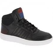 Adidas Zwarte Hoops Mid 2.0 adidas maat 40