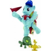 Set Figurine Hasbro My Little Pony Explore Equestria Poneiul Rainbow Dash Si Acc
