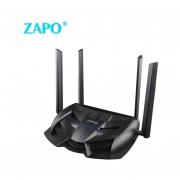 ZAPO 1200M De Dos Bandas De Juego Inalámbrico Wifi Router Wireless Repeater Negro Roteador CA