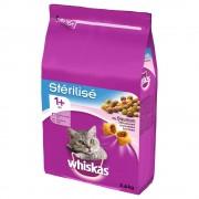 3,6 kg Whiskas 1+ Sterile con salmón pienso para gatos