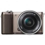 Aparat foto Mirrorless Sony Alpha A5100 L 24.3MP, Maro + Obiectiv Sony SELP1650, 16-50mm