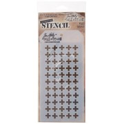 "Stampers Anonymous Tim Holtz Layered Plus Stencil, 4.125"" X 8.5"" ..."