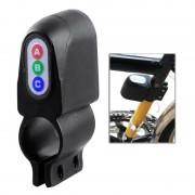 Fiets Motion Sensor veiligheid Alarm(Black)