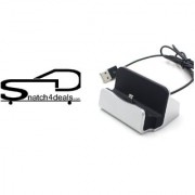 s4d iphone Desk Charger charge and Sync Dock Stand with Lightning 8pin Cable Connector Compatible With Apple ipad iPhon
