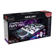 Hercules Air S Party Pack 2canali Nero, Argento controller per DJ