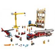 LEGO Divizia pompierilor din centrul orașului