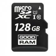 Micro SD Card, 128GB, GOODRAM, Class10, 1xAdapter (M1AA-1280R12)