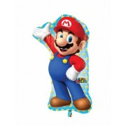 Balão de alumínio Super Mario™ 55 x 83 cm
