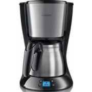 Cafetiera Philips Daily Collection HD747020 1000W 1.2L Functie Anti-picurare Negru