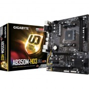 Placa de baza Gigabyte GA-AB350M-HD3, AM4, DDR4 3200, USB 3.1, D-Sub/DVI/