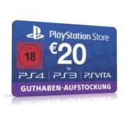 Sony PlayStation Store Guthaben Deutschland 20 Euro