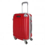 JUSTGLAM Trolley da cabina justglam ultraleggero 55cm rosso
