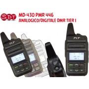 MD-430 PMR 446 UHF ANALOGICO/DIGITALE DMR TIER I
