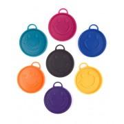 Liragram Peso para globos de 15 g con forma de cara - Color Verde