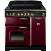 Rangemaster CDL90EICY/B Classic Deluxe Cranberry 90cm Induction Range Cooker