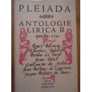 Antologie Lirica Ii - Pleiada