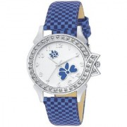 idivas 111 New Design Blue Velvet Women Analog watch for Girls and Ladies Watch - For Women